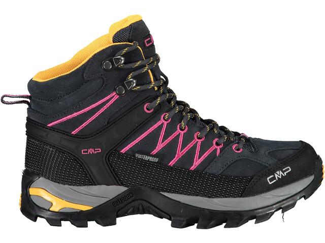 CMP Campagnolo Rigel WP Scarpe Da Trekking Taglio Medio Donna, antracite/bounganville